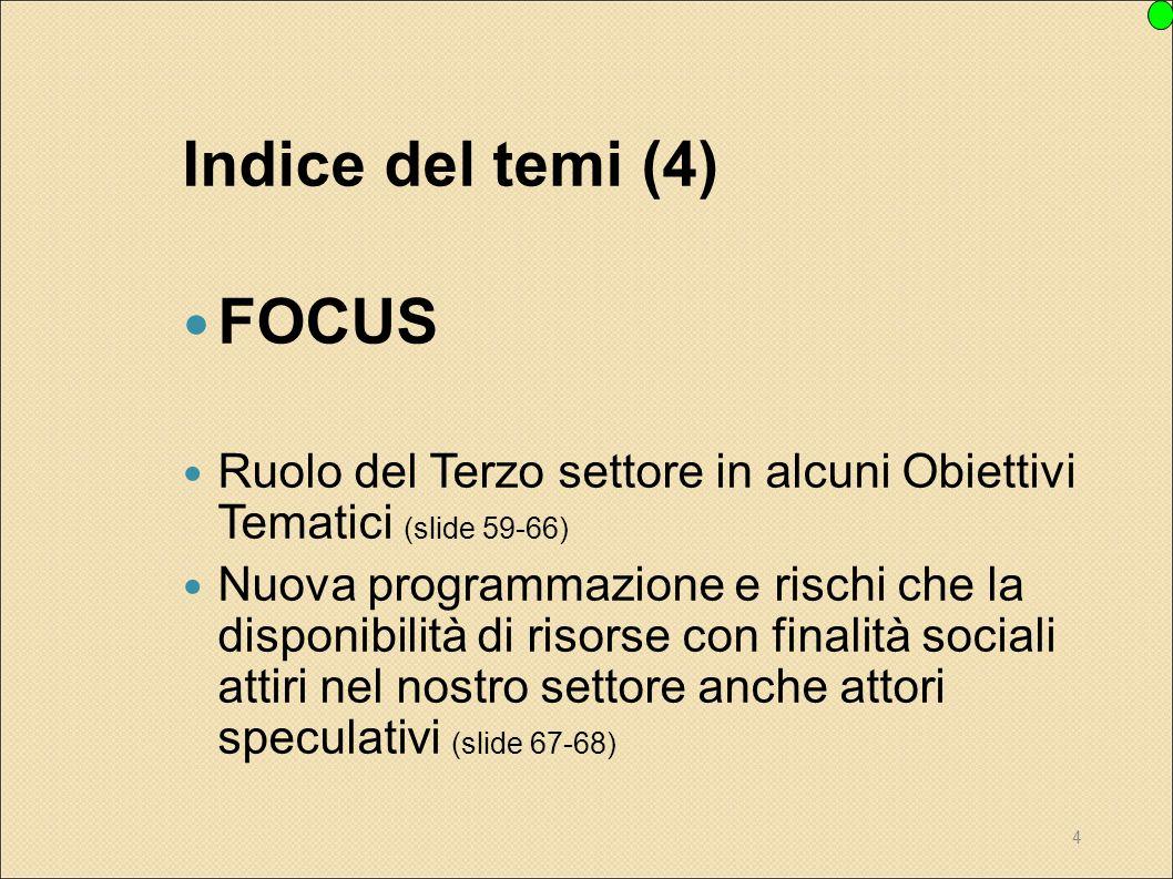 Indice del temi (4) FOCUS