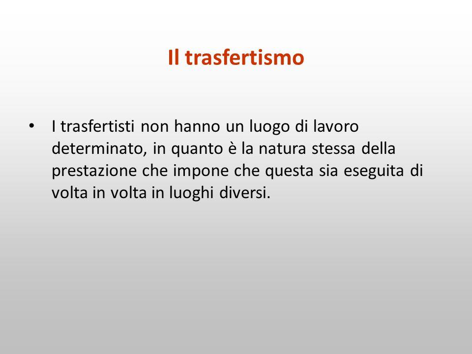 Il trasfertismo