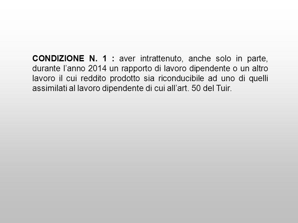 CONDIZIONE N.