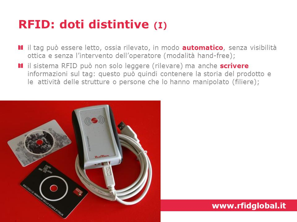 RFID: doti distintive (I)