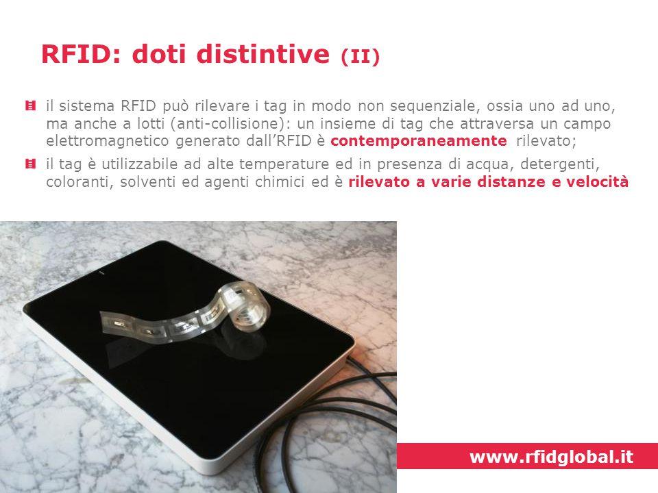 RFID: doti distintive (II)