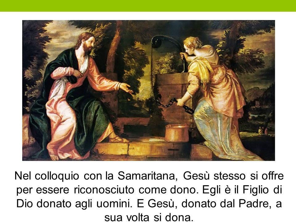Nel colloquio con la Samaritana, Gesù stesso si offre per essere riconosciuto come dono.