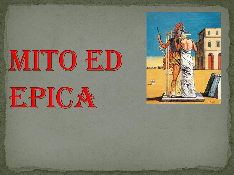 Mito ed Epica