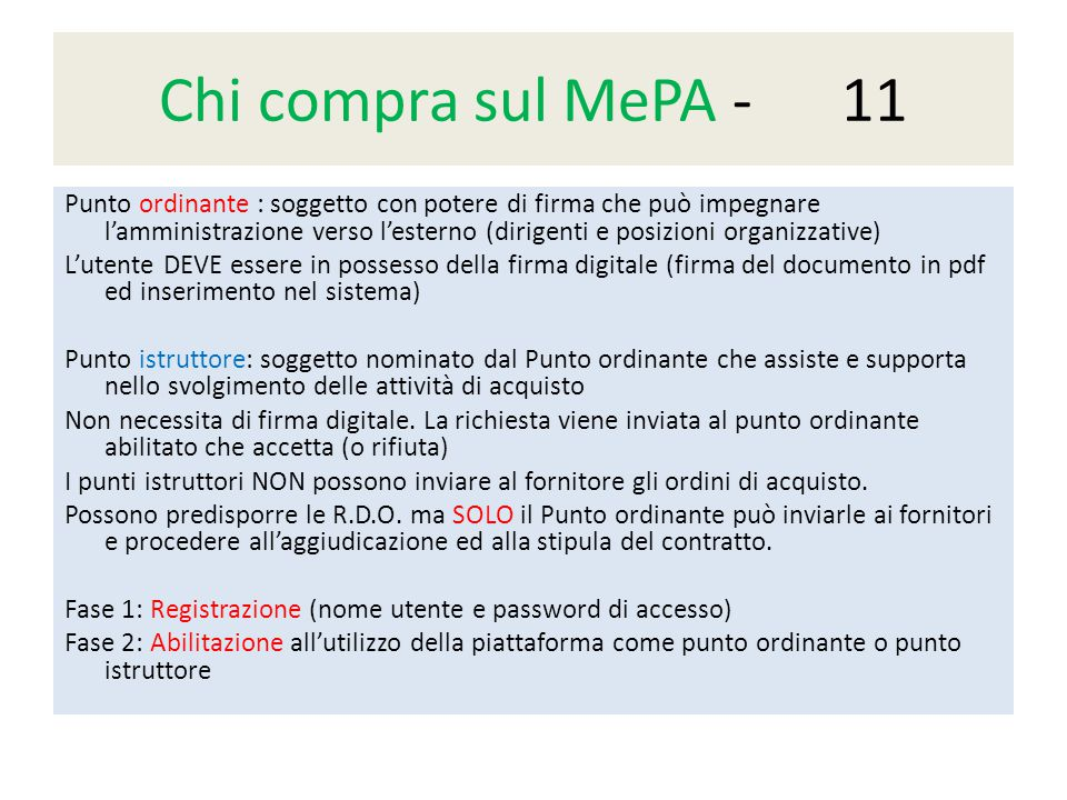 Chi compra sul MePA - 11