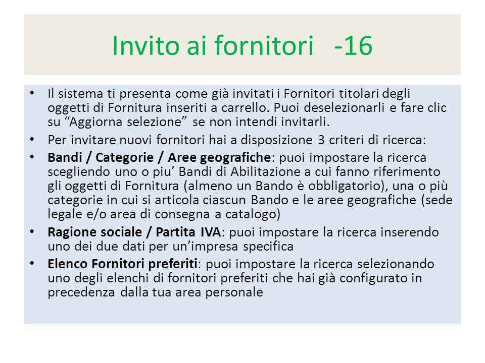 Invito ai fornitori -16