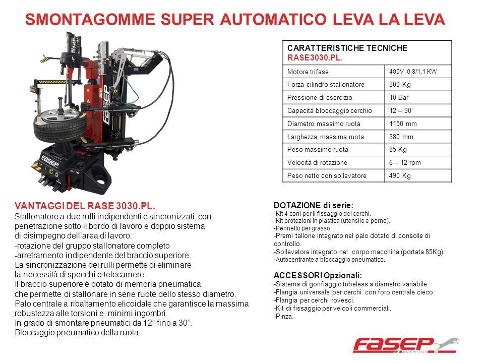 SMONTAGOMME SUPER AUTOMATICO LEVA LA LEVA