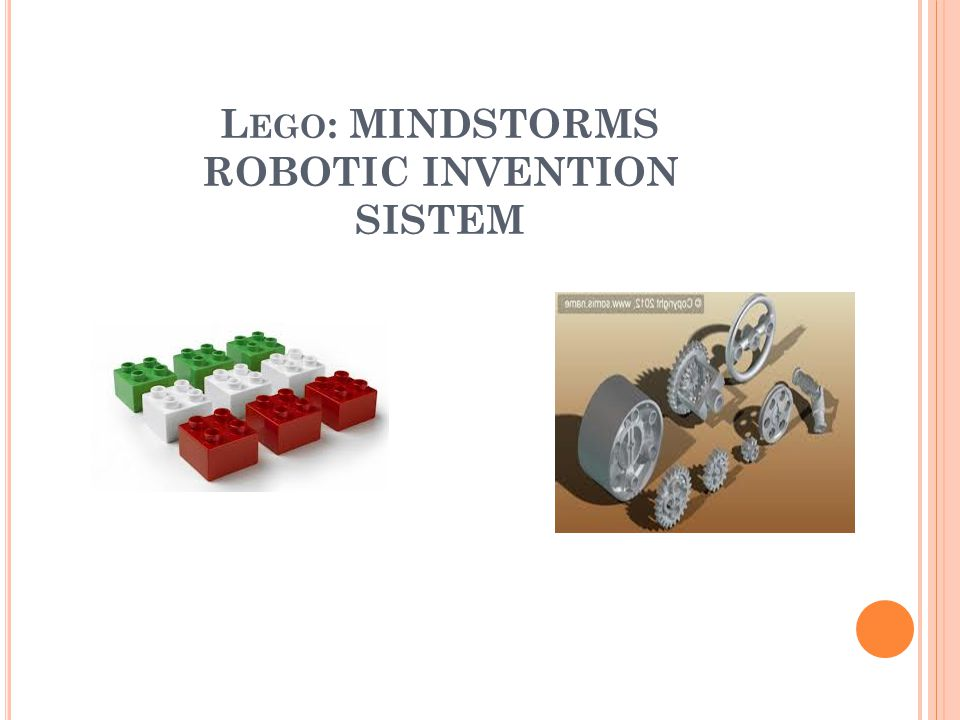 Lego: MINDSTORMS ROBOTIC INVENTION SISTEM