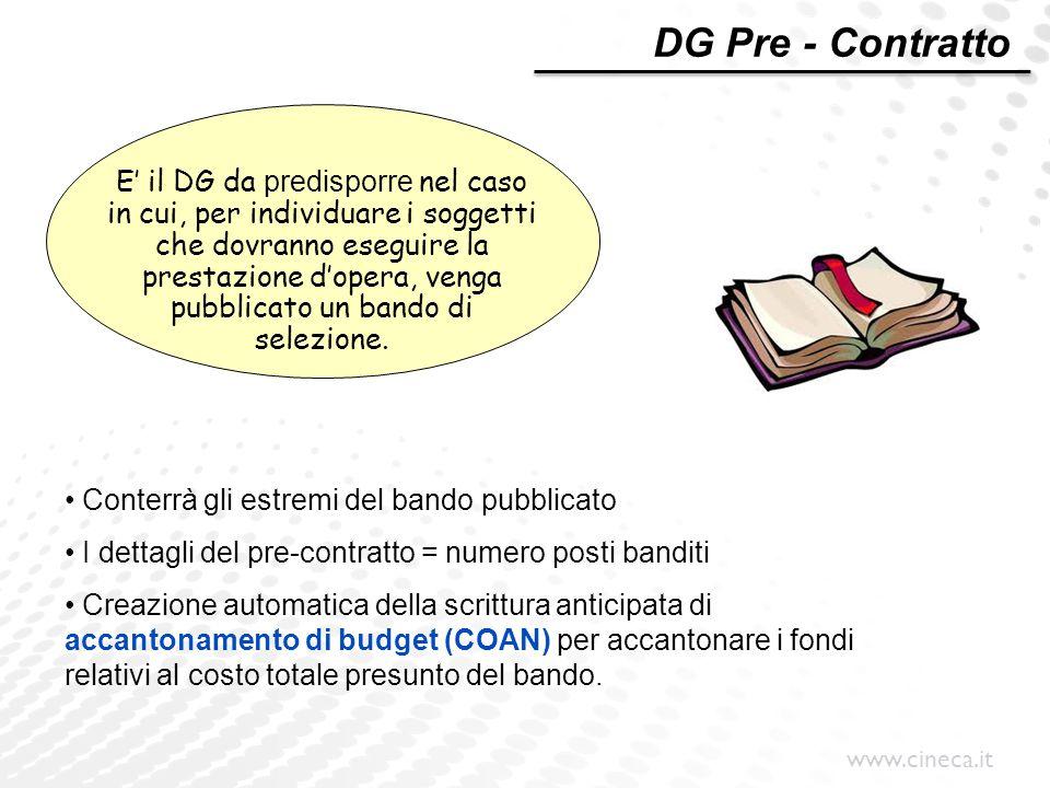 DG Pre - Contratto