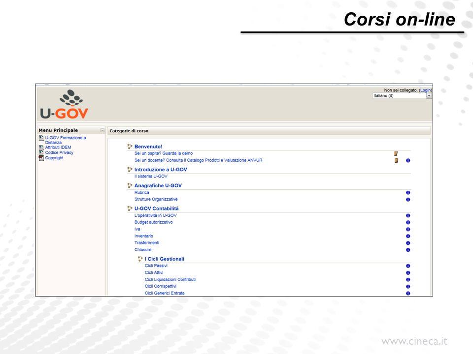Corsi on-line