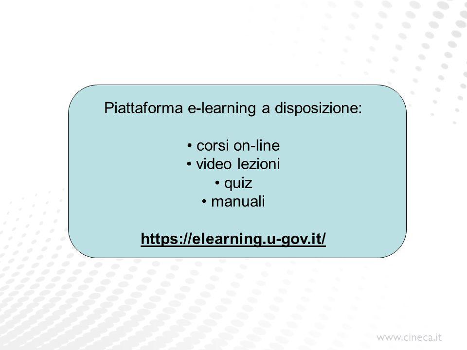 Piattaforma e-learning a disposizione: corsi on-line video lezioni
