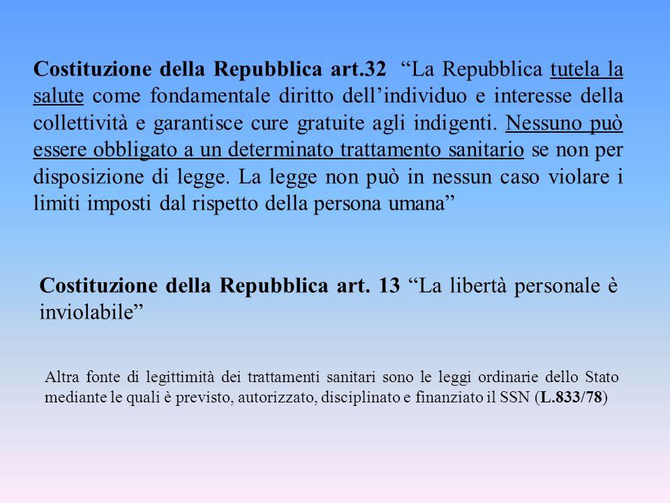 Costituzione della Repubblica art
