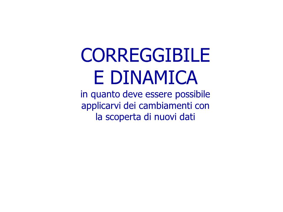CORREGGIBILE E DINAMICA