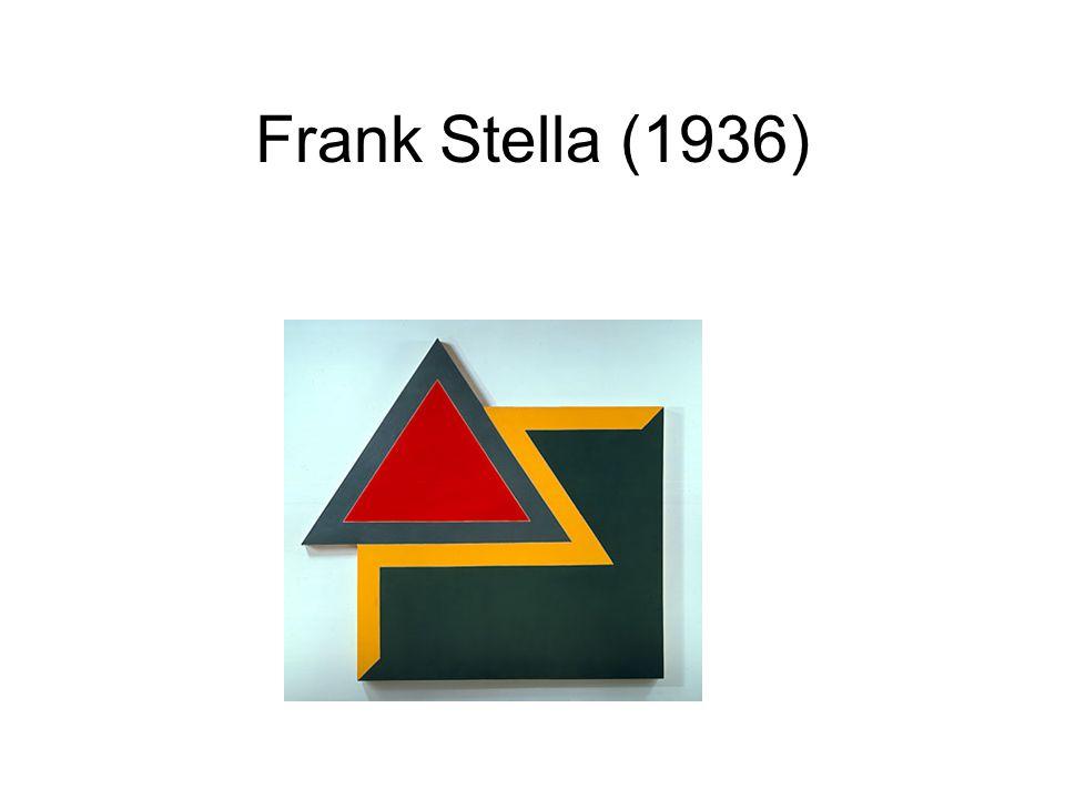 Frank Stella (1936)