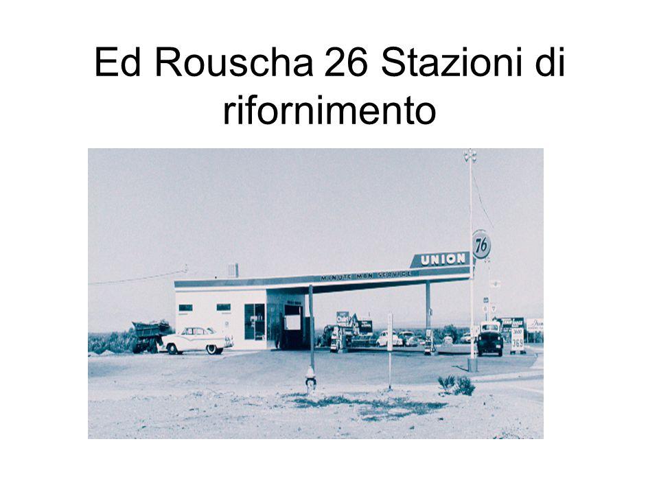 Ed Rouscha 26 Stazioni di rifornimento