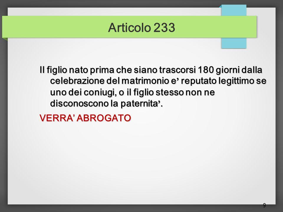 Articolo 233
