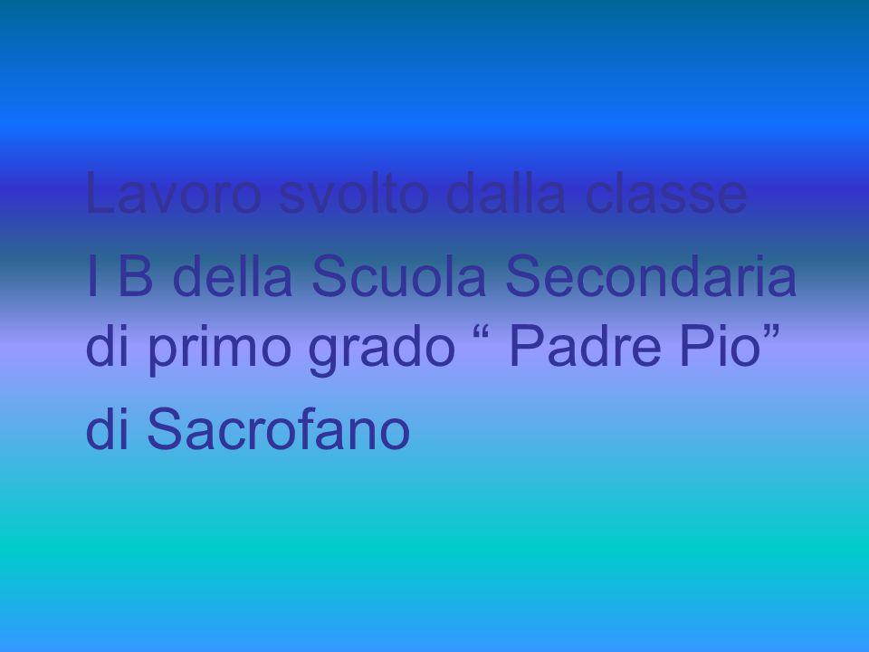 I B della Scuola Secondaria di primo grado Padre Pio di Sacrofano