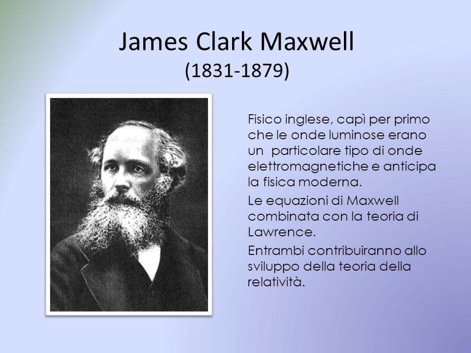 James Clark Maxwell (1831-1879)