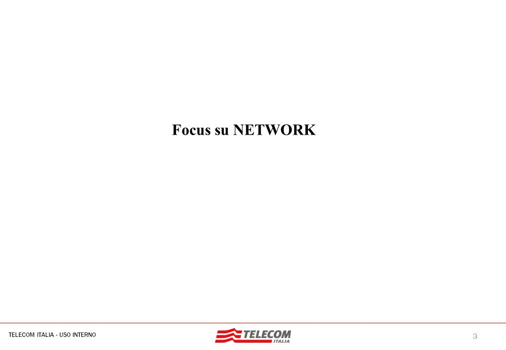 Network : driver del riassetto