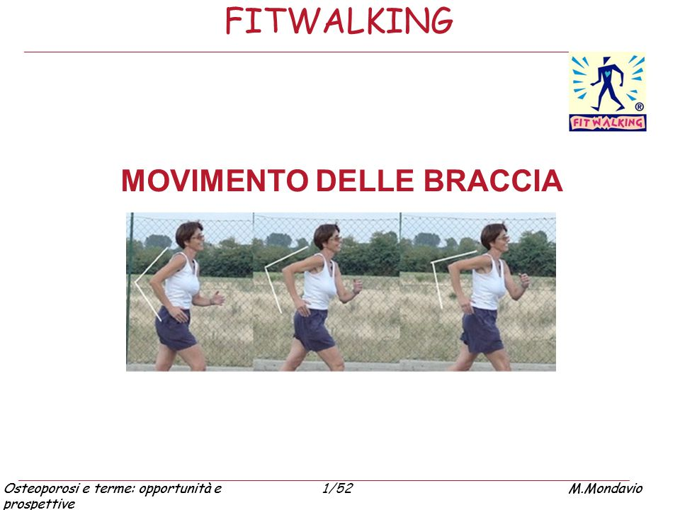 FITWALKING MOVIMENTO DELLE BRACCIA