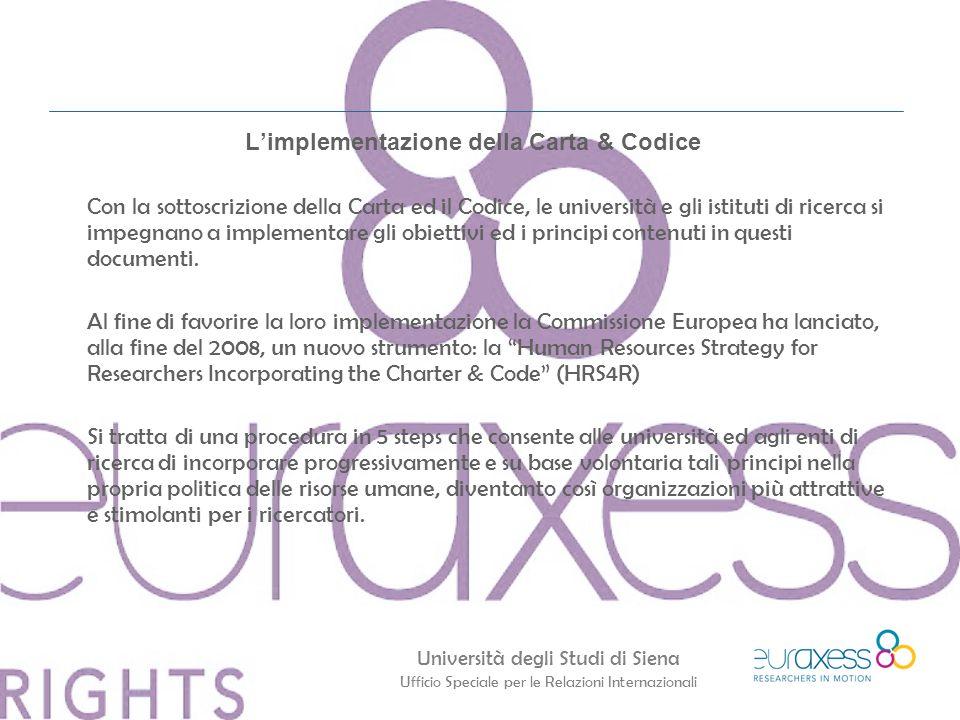 L'implementazione della Carta & Codice