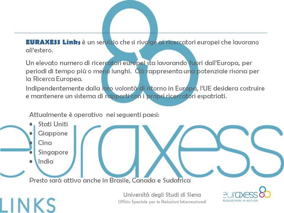 EURAXESS Links è un servizio che si rivolge ai ricercatori europei che lavorano all'estero.