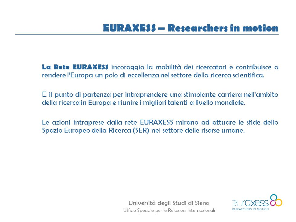 EURAXESS – Researchers in motion
