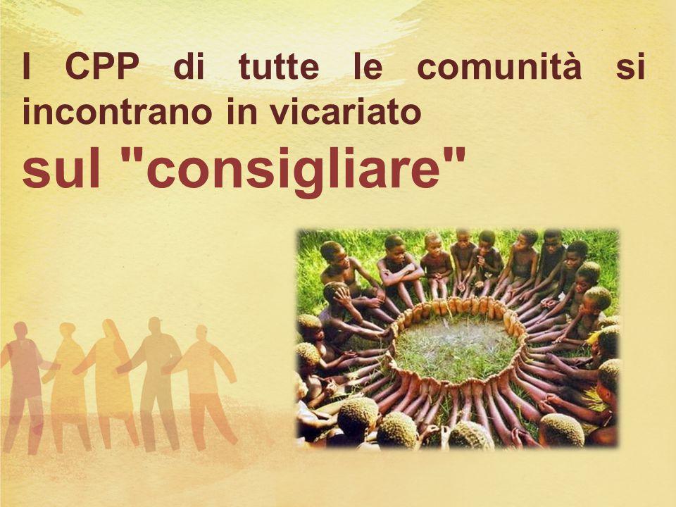 I CPP di tutte le comunità si incontrano in vicariato