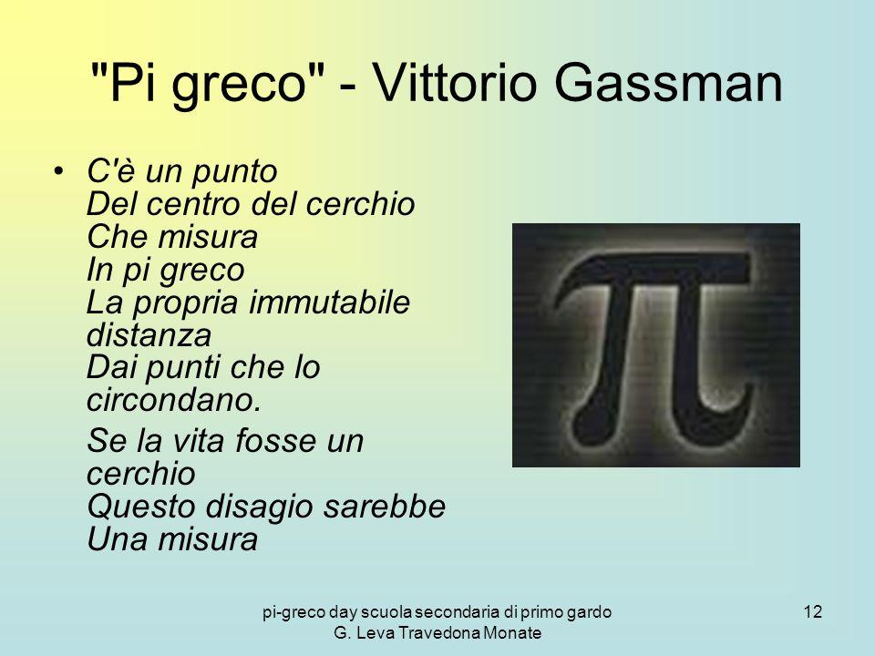 Pi greco - Vittorio Gassman