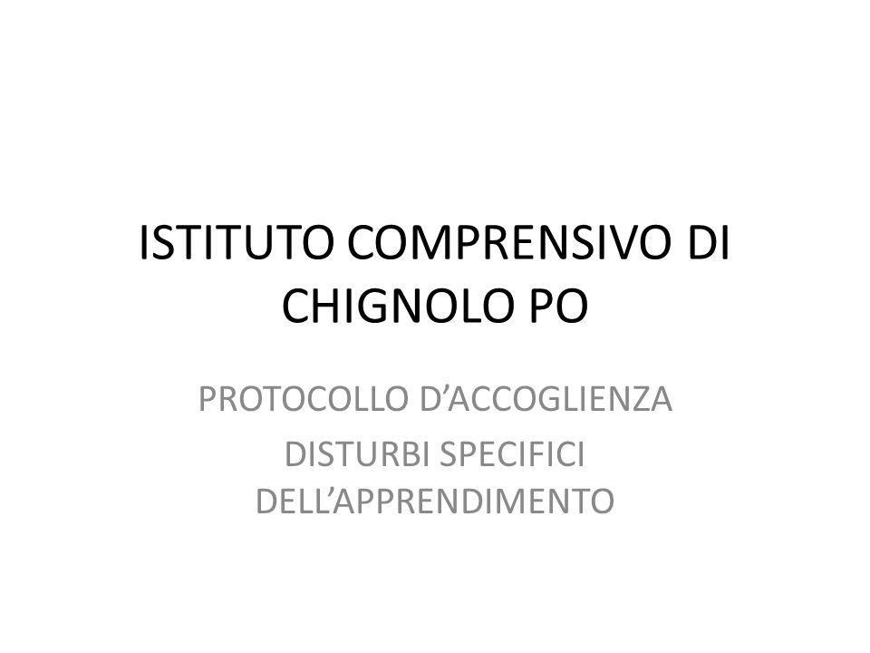 ISTITUTO COMPRENSIVO DI CHIGNOLO PO