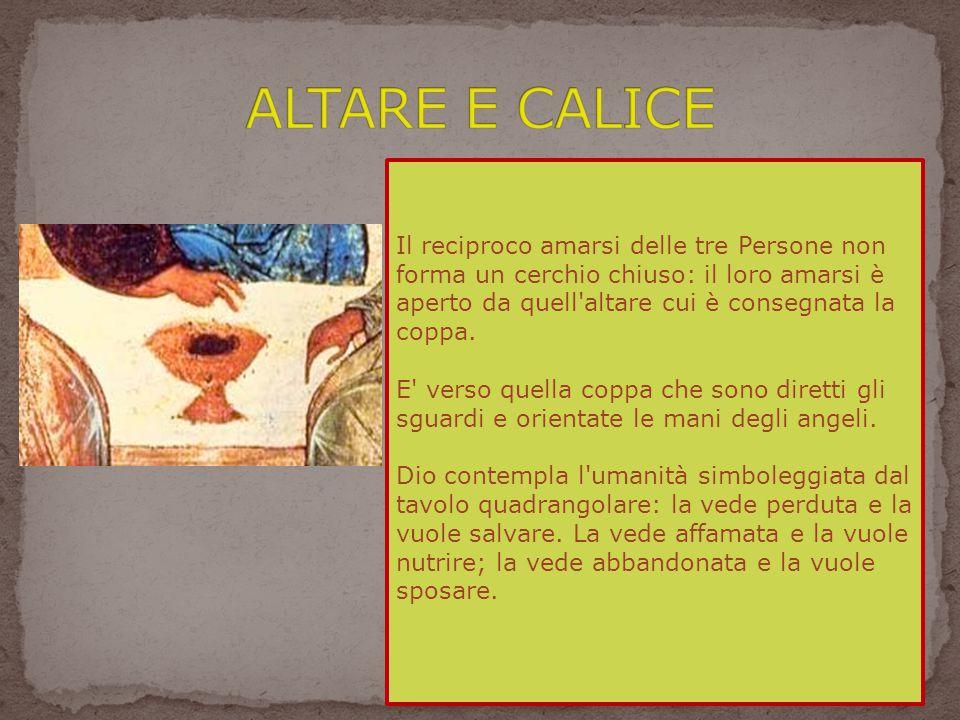 ALTARE E CALICE