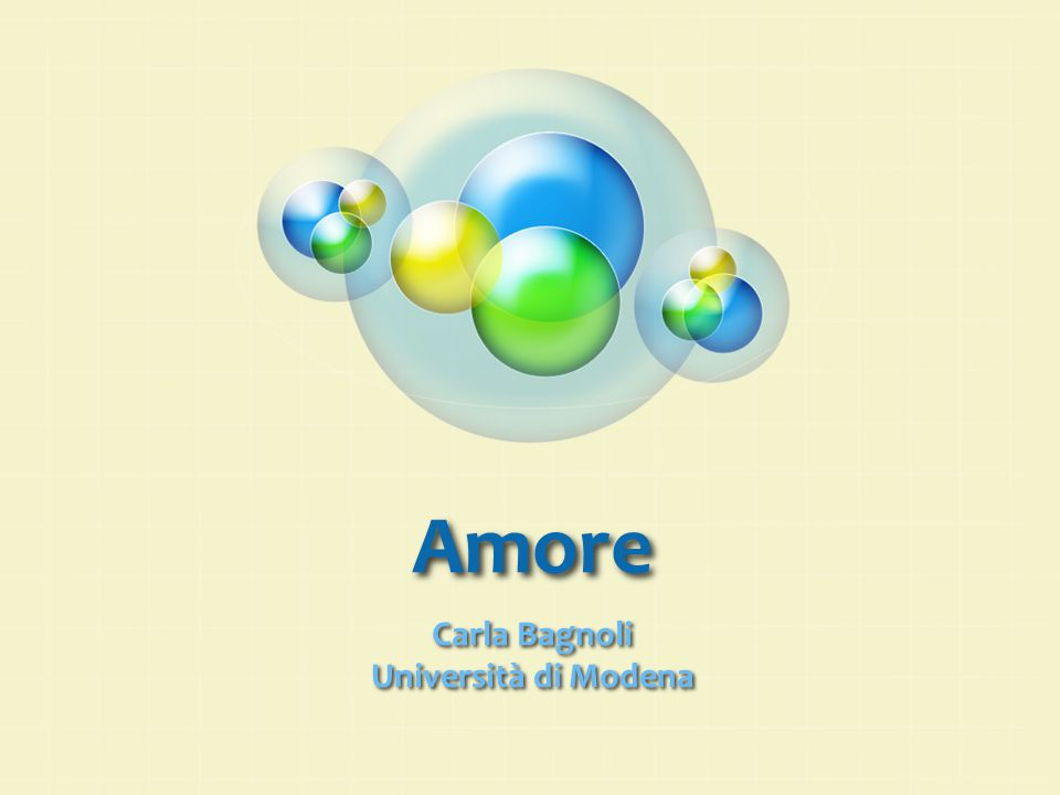 Carla Bagnoli Università di Modena