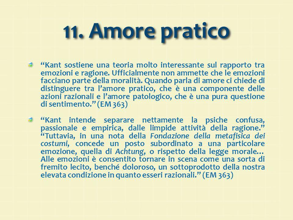 11. Amore pratico