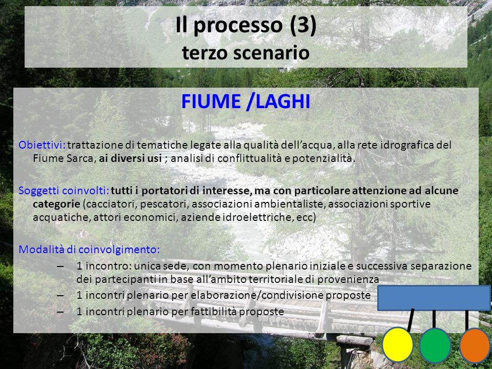 Il processo (3) terzo scenario