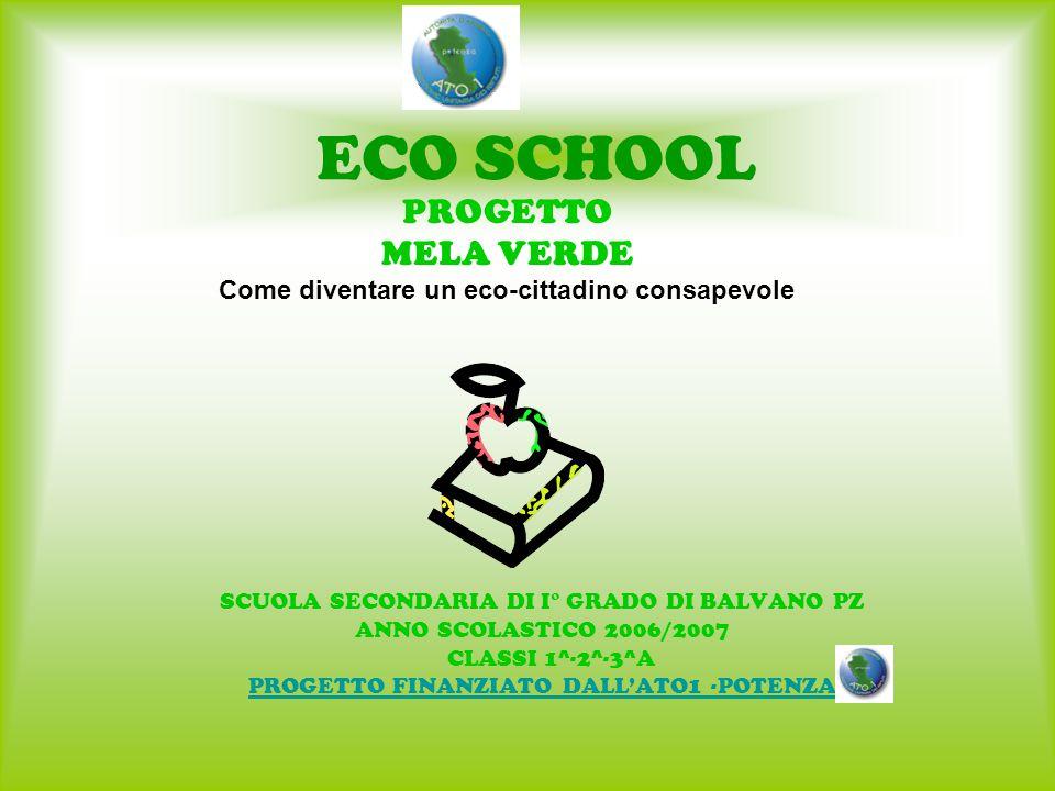 ECO SCHOOL PROGETTO MELA VERDE