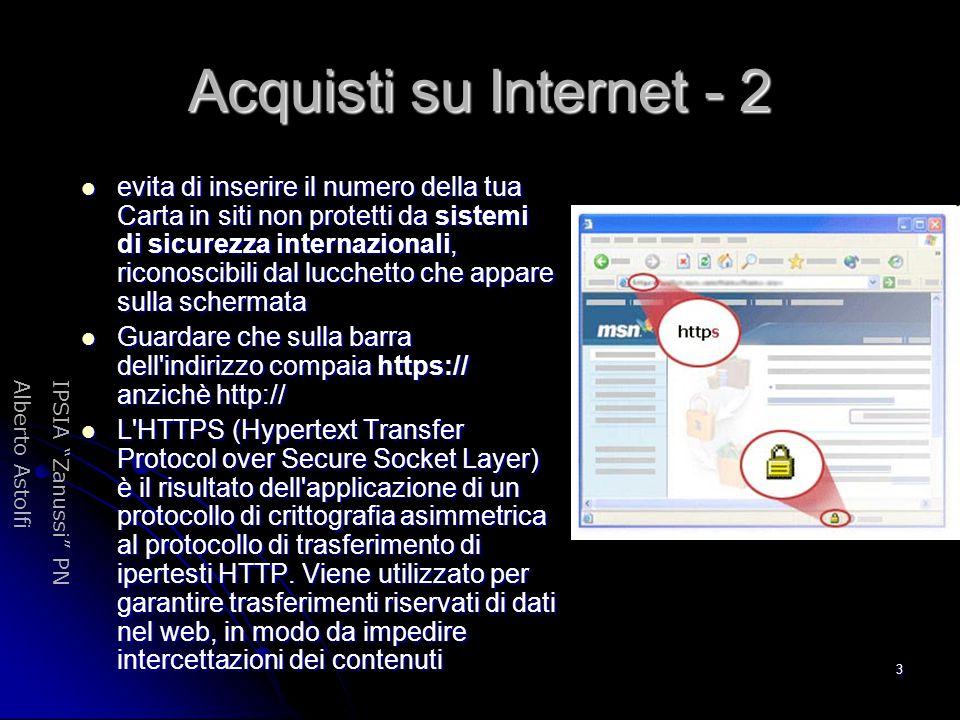 Acquisti su Internet - 2