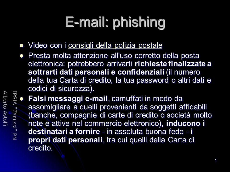 E-mail: phishing Video con i consigli della polizia postale