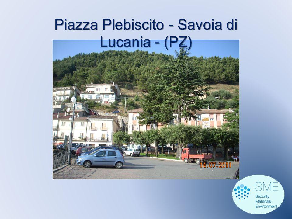 Piazza Plebiscito - Savoia di Lucania - (PZ)