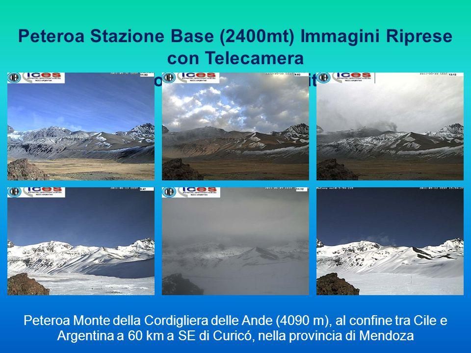 Peteroa Stazione Base (2400mt) Immagini Riprese con Telecamera
