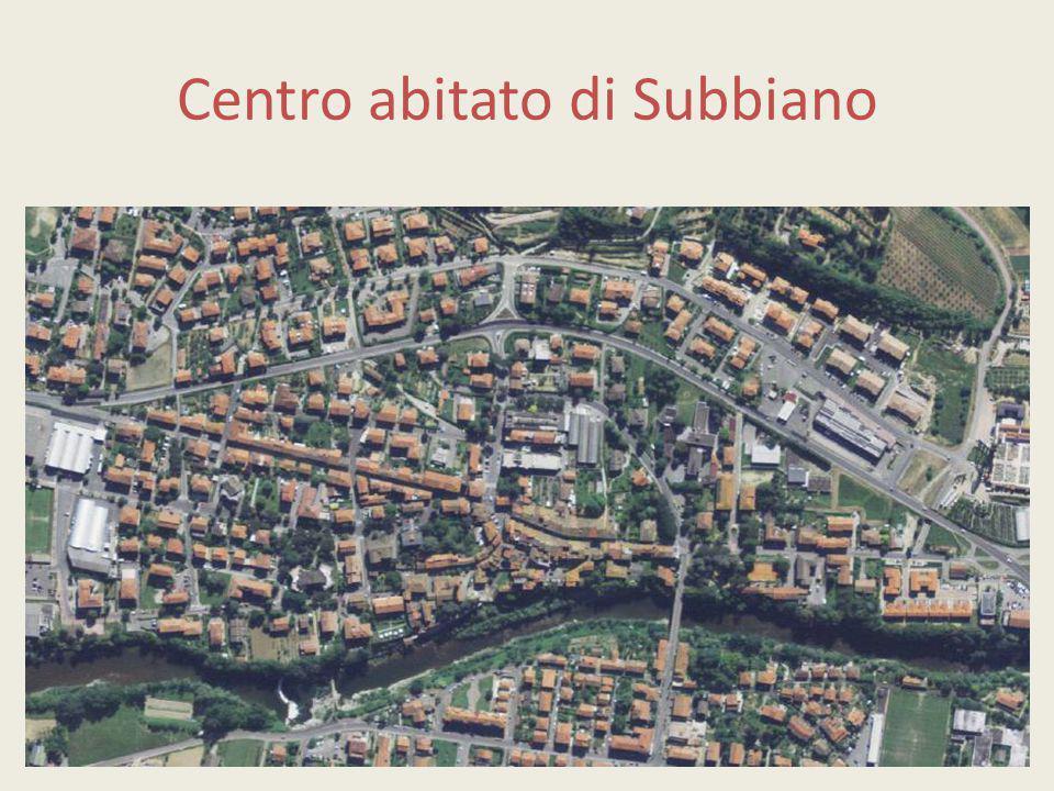 Centro abitato di Subbiano