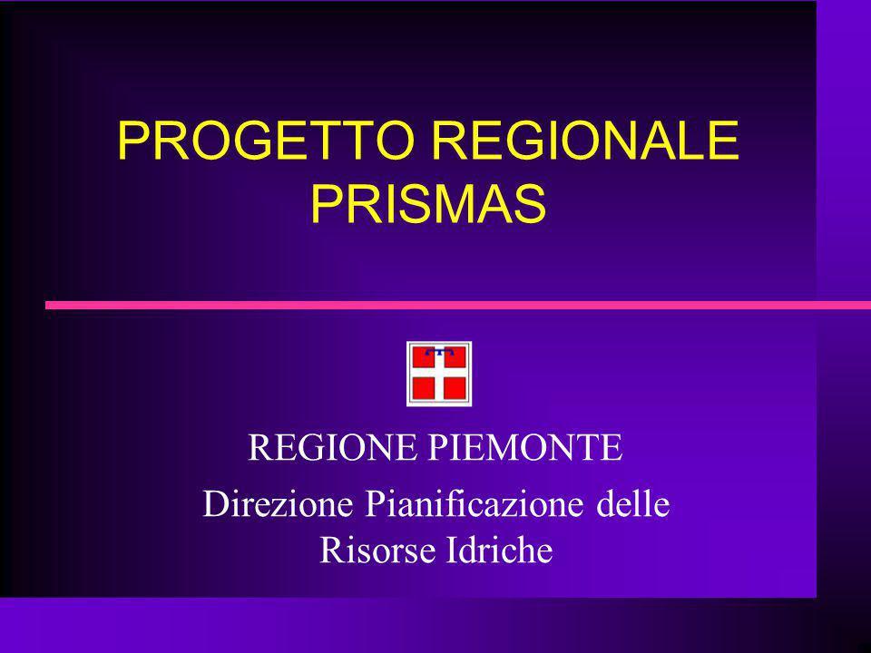 PROGETTO REGIONALE PRISMAS