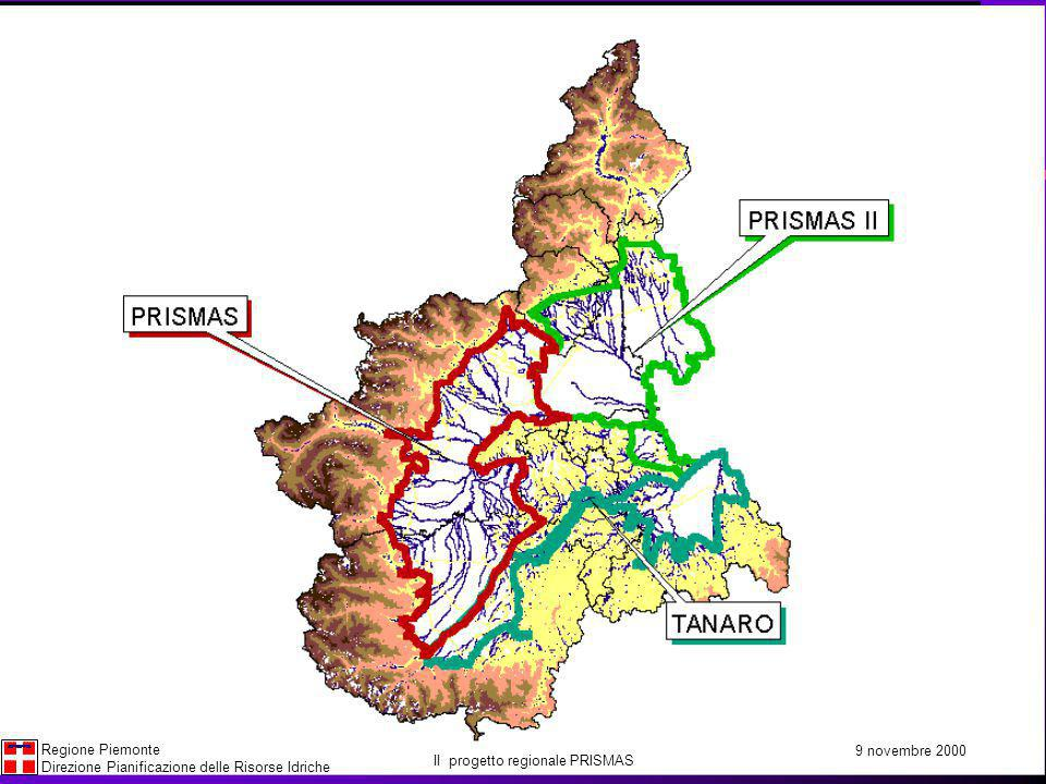 Il progetto regionale PRISMAS
