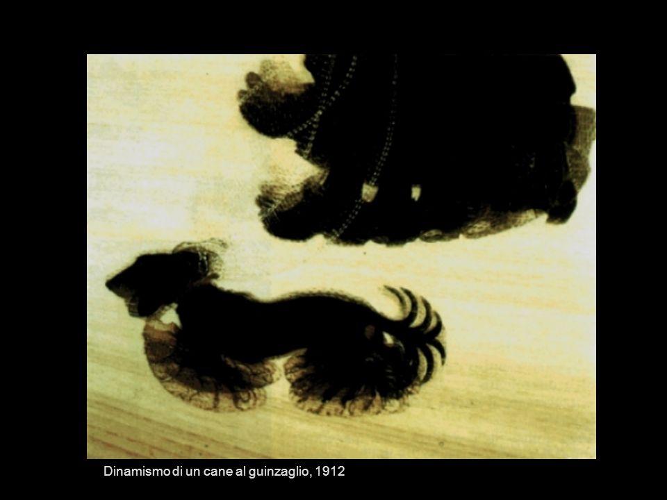 Dinamismo di un cane al guinzaglio, 1912