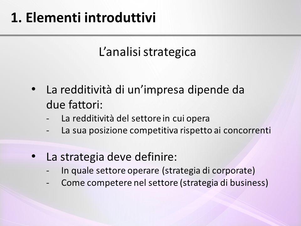 1. Elementi introduttivi