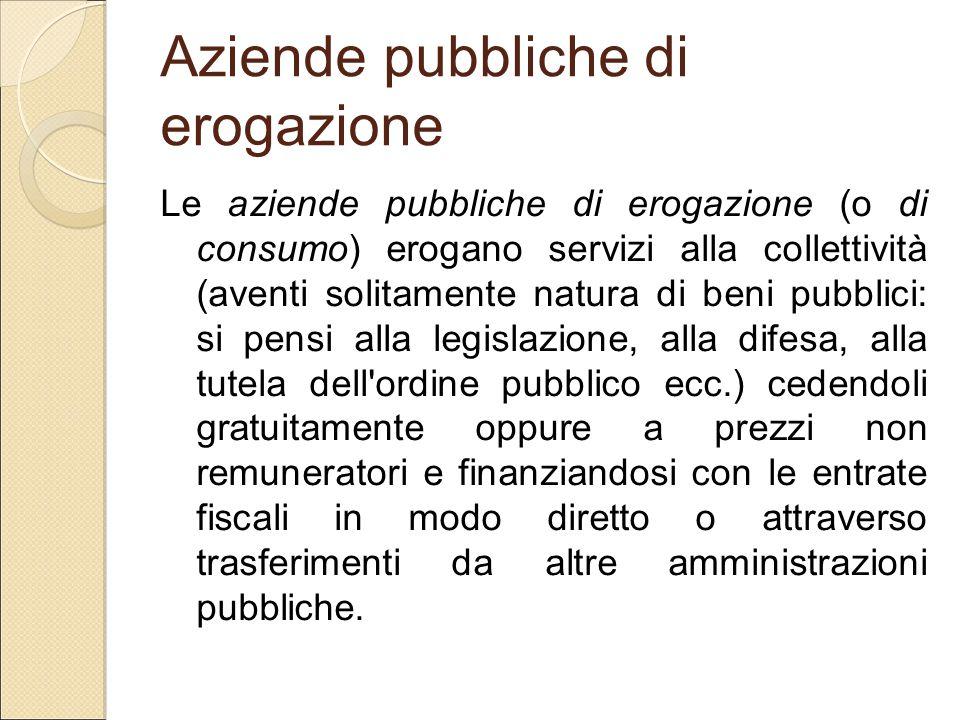 Aziende pubbliche di erogazione