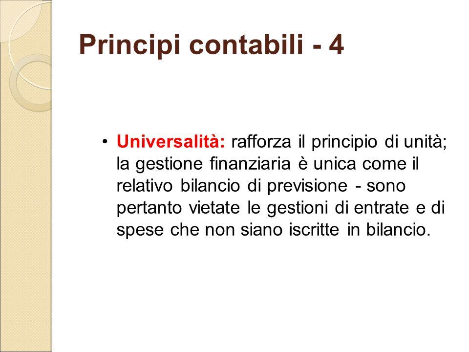 Principi contabili - 4