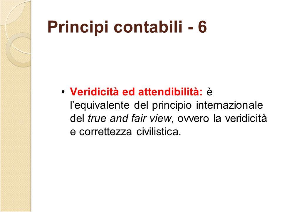 Principi contabili - 6