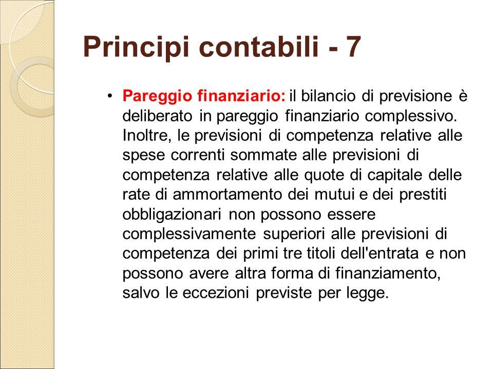 Principi contabili - 7