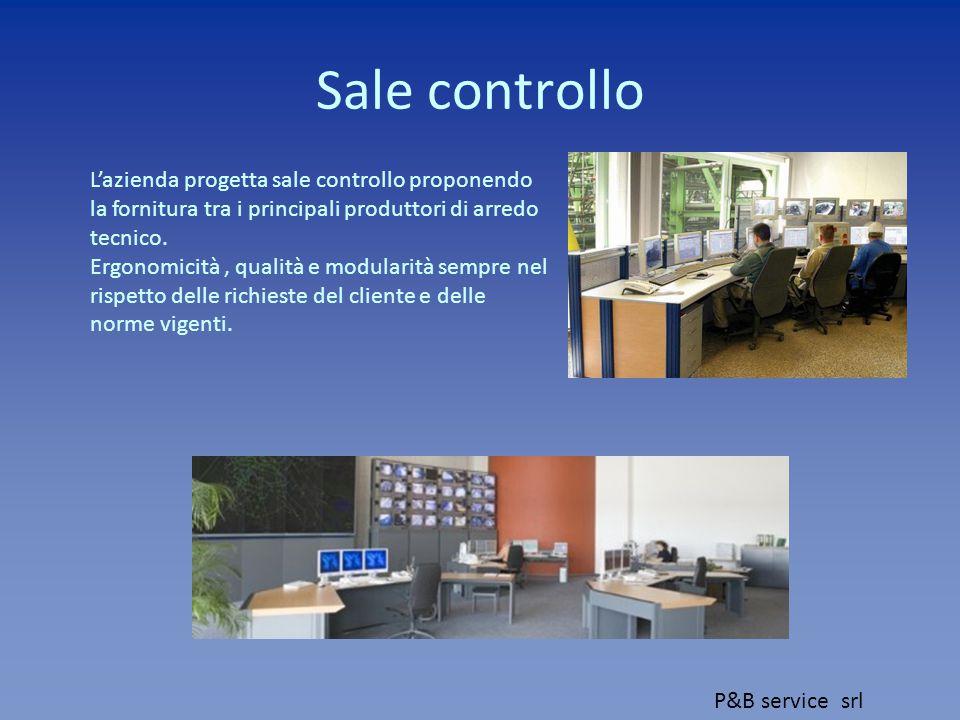 Sale controllo L'azienda progetta sale controllo proponendo la fornitura tra i principali produttori di arredo tecnico.