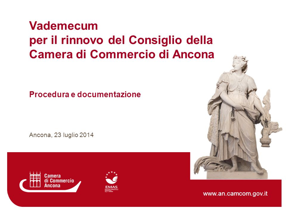 per il rinnovo del Consiglio della Camera di Commercio di Ancona