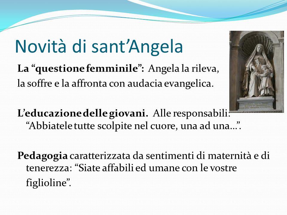 Novità di sant'Angela